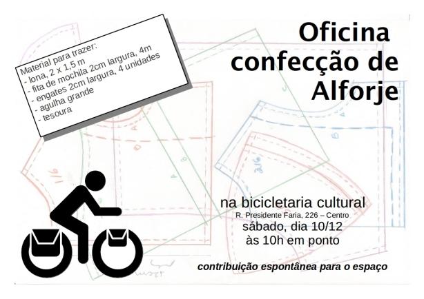 oficina alforje bicicletaria 10 dezembro 2011