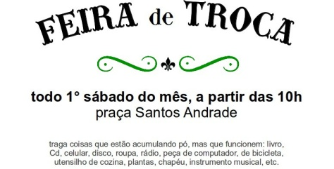 FEIRA DE TROCAS