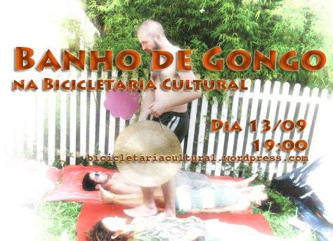 ARTE BICI MOB - BANHO DE GONGO COM VINICIUS BRAND