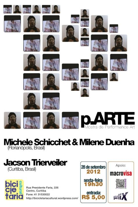 p.ARTE - MOSTRA DE PERFORMANCE ART dia 28/09