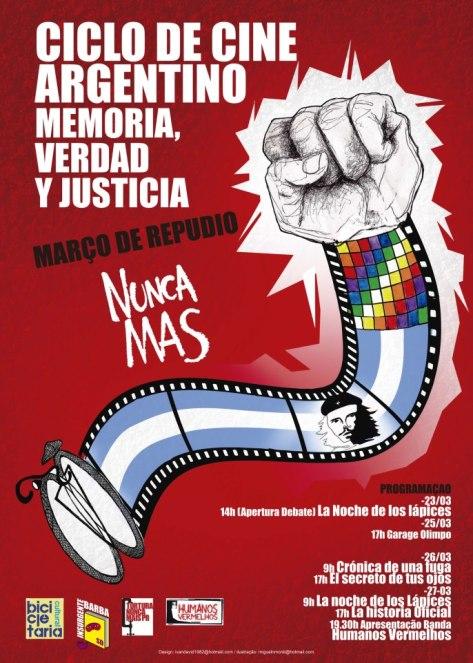 SEMANA DE FILMES SOBRE A DITADURA NA ARGENTINA