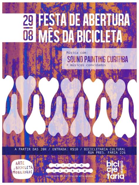 QUINTA 29/08 FESTA DA ABERTURA DO MÊS DA BICICLETA