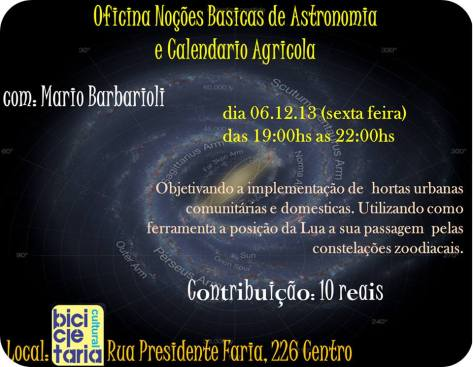 ASTRONOMIA E CALENDÁRIO AGRÍCOLA