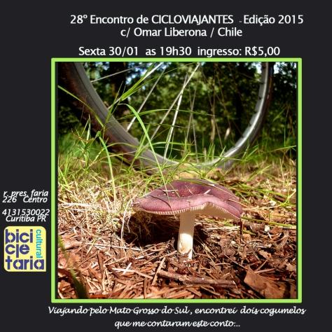 com orgulho apresentamos o 1º encontro de cicloviajantes de 2015
